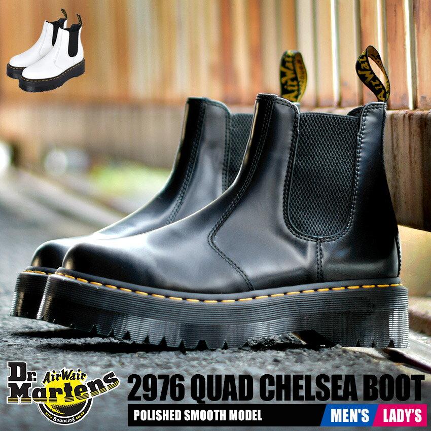 ブーツ, サイドゴア  2976 DRMARTENS QUAD 24687001