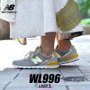 ニューバランス 996 レディース スニーカー WL996 グレー 靴 シューズ 通勤 通学 運動 ローカット 定番 ロングセラー 人気 シンプル カジュアル コンフォートシューズ ローカット NEW BALANCE WL996CPC