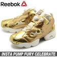 【シューズ全品 送料無料】 リーボック REEBOK スニーカー インスタ ポンプ フューリー CELEBRATE ブラス×チョーク(REEBOK INSTA PUMP FURY ELEBRATE V70094)レディース(女性用) 靴 シューズ