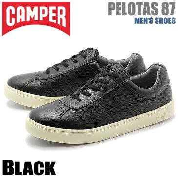 カンペール(CAMPER) ぺロータス 87 ブラック(CAMPER K100006 001 PELOTAS 87)メンズ(男性用) 靴 シューズ カジュアル スニーカー 天然皮革 レザー ローカット 送料無料
