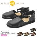 オーロラシューズ AURORA SHOES ニューチャイニーズ カジュアルシューズ レディース レザー 革 靴 ブラック ブラウン レッド ネイビー 黒 赤 青 茶 サンダル NEW CHINESE
