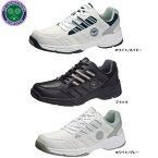 アサヒ / ウインブルドン 052 ホワイト 白 グレー ブラック 黒 ( ウィンブルドン WB WINBLEDON )【テニス】【テニスシューズ】【幅広 4E相当】【シューズ】【スニーカー】【靴】(後継モデルです)