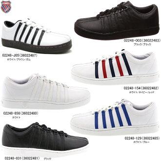 情况椅子K-SWISS古典88皮革運動鞋K、SWISS Classic 88大衣風格人分歧D運動鞋 ○