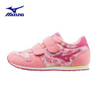 美津濃 (美津濃) 雨孩子 4 孩子運動鞋櫻桃顏色水野運行孩子 4 K1GD163360-