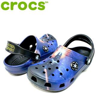 Crocs 經典達斯 · 維德堵塞 Crocs 經典達斯 · 維德堵塞 203612 90 H 孩子的涼鞋木屐涼鞋-