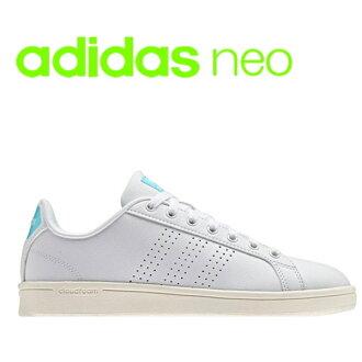 愛迪達adidas女士運動鞋AW3975雲形式散裝列安adidas neo CLOUDFOAM VALCLEAN●