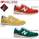 ニューバランス 996 メンズ スニーカー New Balance MRL996 オレンジ イエロー グリーン 靴 メ...