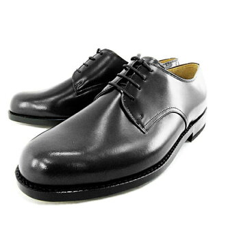 ★ ★ □ HARUTA 9134 plain toe lace-up wide 4E black business shoes