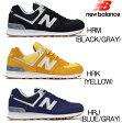 ニューバランス 574 New Balance ML574 メンズ レディース 靴 スニーカー ニューバランス 正規品 HRM/HRK/HRJ【OBOB-28nhhd】●
