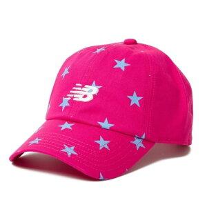 ニューバランスKidsキャップJACL9736PKピンクキッズ帽子