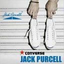 コンバース ジャックパーセル CONVERSE JACKPURCELL レディース メンズ スニーカー キャンバス ブラック (32260371)
