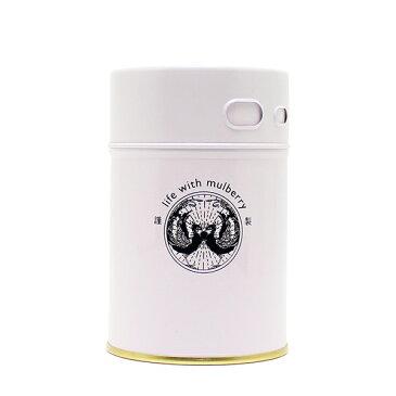 【桑の葉茶 糖質対策 めぐりサポート ダイエットサポート 脂肪分 野菜不足 栄養満点】ハンさんの おいしい くわ茶 振り出し缶