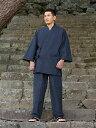 作務衣・さむえ・サムイ・敬老の日・父の日・還暦祝い・久留米絣調・久留米織・文人織日本製