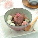 【季節限定】桜白玉あんみつ(白蜜)(お届け期間:4/2〜4/14) 【冷蔵品】