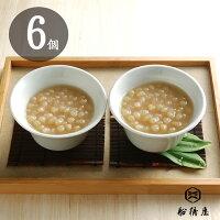 【6個化粧箱入】幻の白小豆しらつゆ
