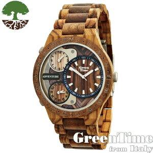 GreenTime グリーンタイム 【ZW078A】 メンズ 腕時計 木製 【正規輸入品】 Zzero orologi