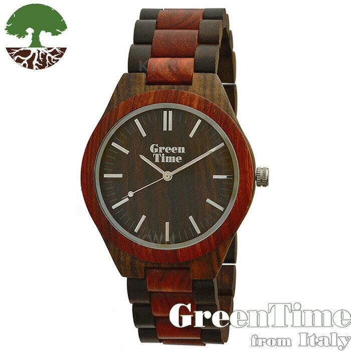グリーンタイム【ベーシックZW021H】GreenTimeジェンダーフリー腕時計木製【正規輸入品】Zzeroorologi