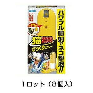 【猫まわれ右 びっくりスプレーセット 8個セット】!