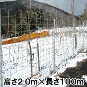 【パネル型金網フェンス2000】
