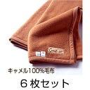 インテリア・収納・寝具通販専門店ランキング25位 【肌にやさしいキャメル毛布 6枚セット】※送料無料【smtb-kd】