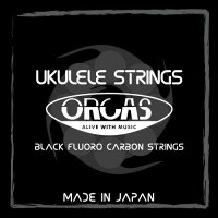 ORCASBlackFluoroCarbonStrings[OS-30LG]
