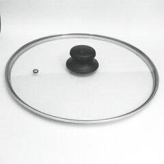 割れ難い平らなガラスフタTDI 強化ガラス蓋 【フラットタイプ】フライパン用ガラスフタ26cm
