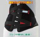 スポーツ 腰痛ベルト/バックインパクト/ゴルフ、野球、テニス等に最適 ひねる動きに対応したコルセット 腰用サポーター 送料無料 日本製