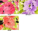 メーカー完売 1WAY ポリエステル ニット生地 布 ロザンナ 170350 花柄 ローズ柄 バラ柄 商用利用可能