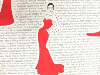 身穿印花面料布USA棉布羅伯特袖口人員CITY CHIC城優雅ACQ16209-3深紅的禮服的美女ROBERT KAUFMAN羅伯特考夫曼商業用途可能的10P03Dec16