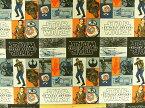 輸入 USAコットン キャラクター生地 スターウォーズ フォースの覚醒 正規ライセンス品 7360101 反乱軍 商用利用不可