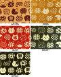 和調柄 ドビー織生地 布 縁起物 招き猫 まねき猫柄 AP62305−1 フェイス 商用利用可能