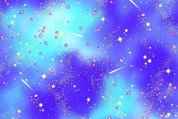 入園入学 オックス生地 布 クールランドIV SP2001−3Cネイビー 宇宙 星空 男の子柄 商用利用可能