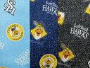 キャラクター生地 布 福岡ソフトバンクホークス AP7777−1 デニム柄 2020年 継続 入園入学 プロ野球 ハリーホーク 商用利用不可の商品画像