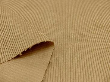 コーデュロイ生地 コール天生地 布 1115−01 無地 ベージュ 細畝 細コール コール巾 約2.5mm 商用利用可能