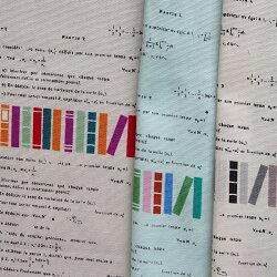 YUWA有輪商店オックス生地布マスマティックス数学数式本スタディCC153018シャルマンコレクション商用利用可能
