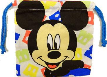 入園入学 キャラクターグッズ ディズニー ミッキーマウス&ミニーマウス 巾着袋 コップ袋 ミッキー&ミニーアイコン APDS1575