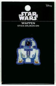 WD-1619 キャラクターワッペン アップリケ 『スターウォーズ』ワッペンSTARWARSWD-1619 R2-D2