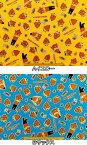 在庫処分 キャラクター生地 布 2016年 入園入学 ねば〜る君 ゆるキャラ G3626−1 茨城県非公認の納豆のマスコットキャラクター 商用利用不可