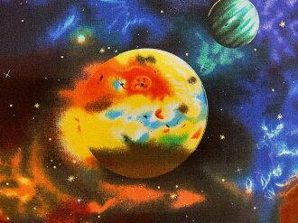布料布USA棉布Stargazers sutageiza EKJM6075-2黑色宇宙花紋天文學家羅伯特袖口人員ROBERT KAUFMAN羅伯特考夫曼商業用途可能的10P03Dec16