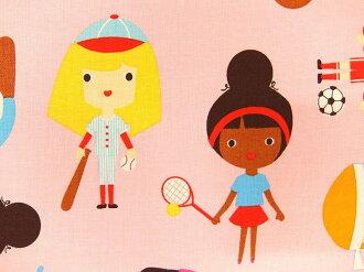入園入學布料布USA棉布運動小孩女人的孩子AAK15982-287羅伯特袖口人員羅伯特考夫曼商業用途可能的10P03Dec16
