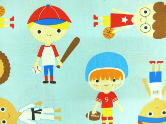 入園入學布料布USA棉布運動小孩男人的孩子AAK15983-269羅伯特袖口人員羅伯特考夫曼商業用途可能的10P03Dec16