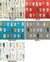 コットンリネン混 キャンバス生地 布 洗濯物干しネコ KTS6227 動物柄 ねこ 猫 小柄 コットンこばやし 商用利用可能