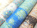 naniIRO Textile 2017 ナニイロ 伊藤尚美 ダブルガーゼ キルティング生地 JGQ10410 花柄 ふわりふわり Fuwari fuwari リニューアル 商用利用不可