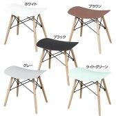 スツール イームズ 送料無料 イームズスツール PP-638 チェア 椅子 イス イームズチェア スツールチェア チェアスツール 背もたれなし シンプル おしゃれ ホワイト ブラウン ブラック グレー ライトグリーン 【D】