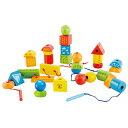 ハペ HAPE ストリング アロング シェイプ E1019A送料無料 おもちゃ 知育玩具 木のおもちゃ ブロック 【TC】