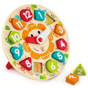 ハペ HAPE 時計パズル E1622Aおもちゃ 知育玩具 木のおもちゃ パズル 【TC】【★SS10】