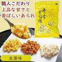 【京都の職人手造り】あられの金餅糖(生姜)60g[金平糖 あ