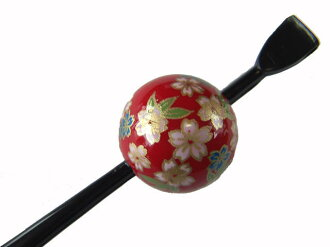 Beijing Jade Hairpin (lacquer type, Jade Hairpin) Red / Kozakura ★ reviews fill in 3% off!!