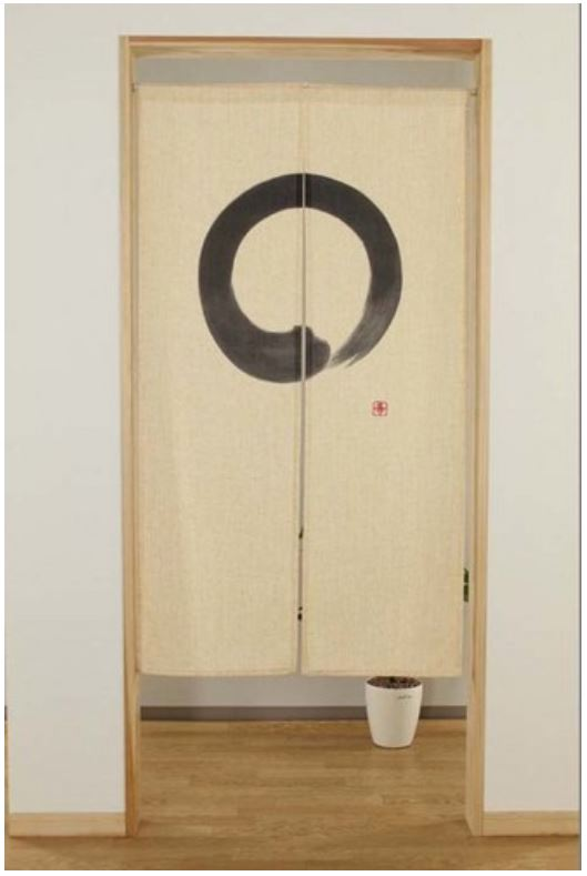 カーテン・ブラインド, のれん  85 cm x 150 cm