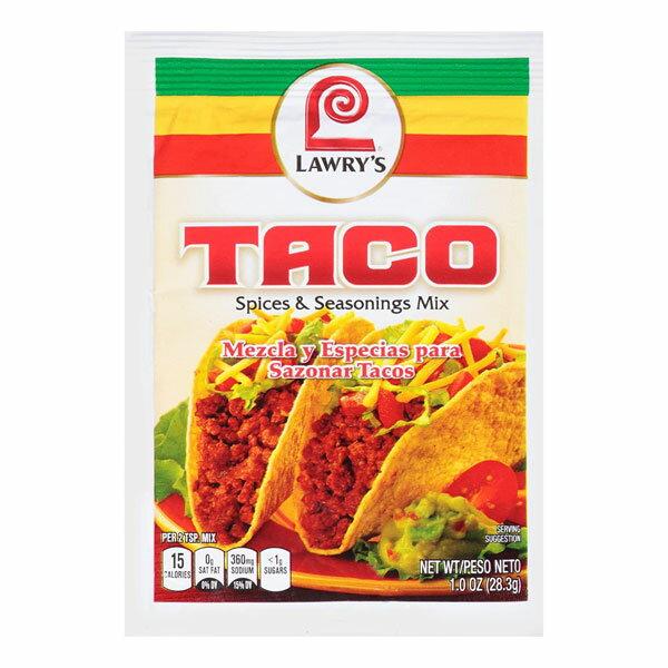 ローリー タコミックス 28.3g LAWRY'S TACO SPICES & SEASONINGS MIX 28GR 【あす楽対応】【タコスミックス】【メキシコ】【シーズニング】
